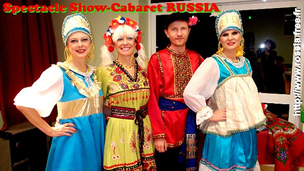 Spectacle Show-Cabaret RUSSIA