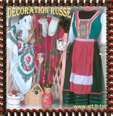 Costumes folkloriques russes